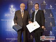 SEO díj - 1. helyezés (2014) - Az év honlapja pályázat