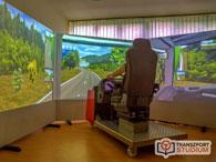 GKI szimulátor - Vezethet nyerges szerelvényt, buszt és mégsokféle más járművet
